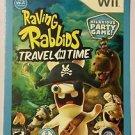 Nintendo Wii Raving Rabbids Travel In Time Blockbuster Artwork Display Card