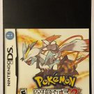 Nintendo DS Pokemon White Version 2 Blockbuster Artwork Display Card