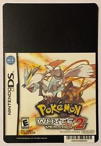Nintendo DS Pokemon White Version 2 Blockbuster Artwork Display Card