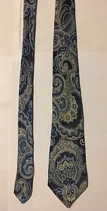 Geoffrey Beene Multicolored Silk Necktie Tie