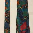 Hardy Amies Multicolored Necktie Tie