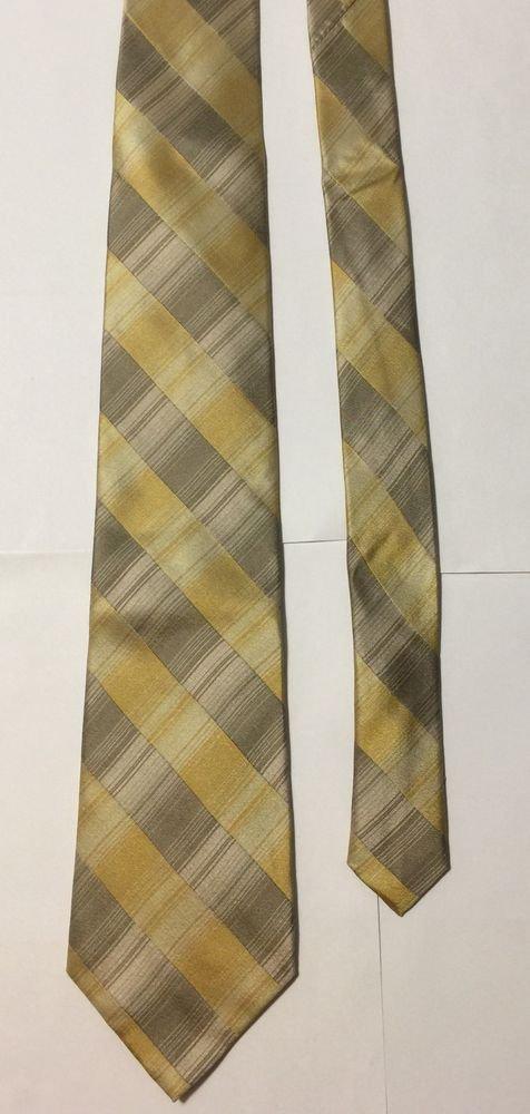 Van Heusen Stain Resistant Striped Silk Necktie Tie