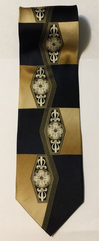 Dimoggio Multicolored Silk Necktie Tie