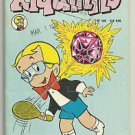 Riquinho #125 October 1977 Brazilian Richie Rich Edition Comic Jewel Paddle Ball