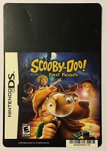 Nintendo DS Scooby-Doo First Frights Blockbuster Artwork Display Card
