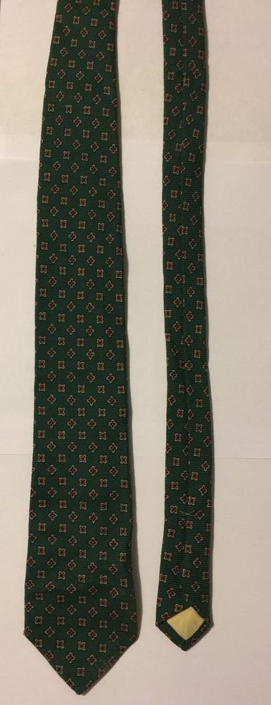 Polo By Ralph Lauren Necktie Green With Floral Print