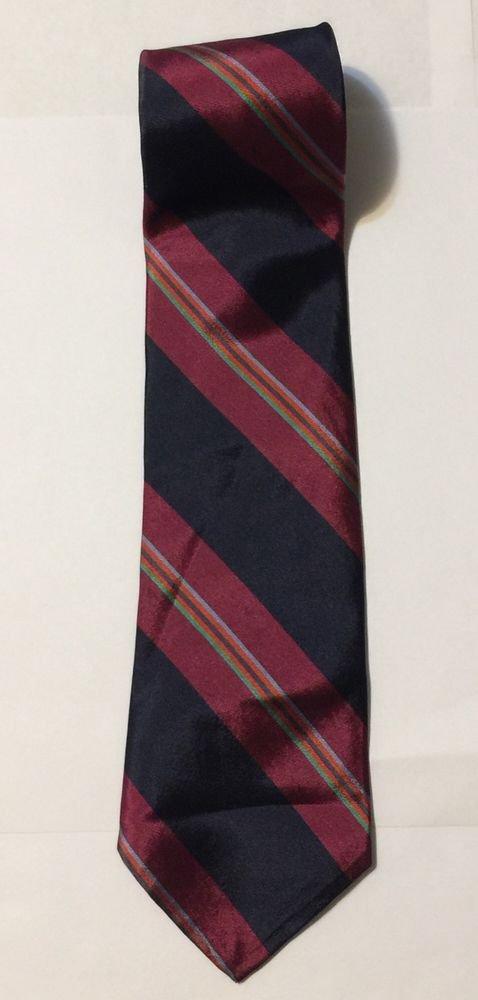 Gant Multi-Colored Striped Silk Necktie Tie