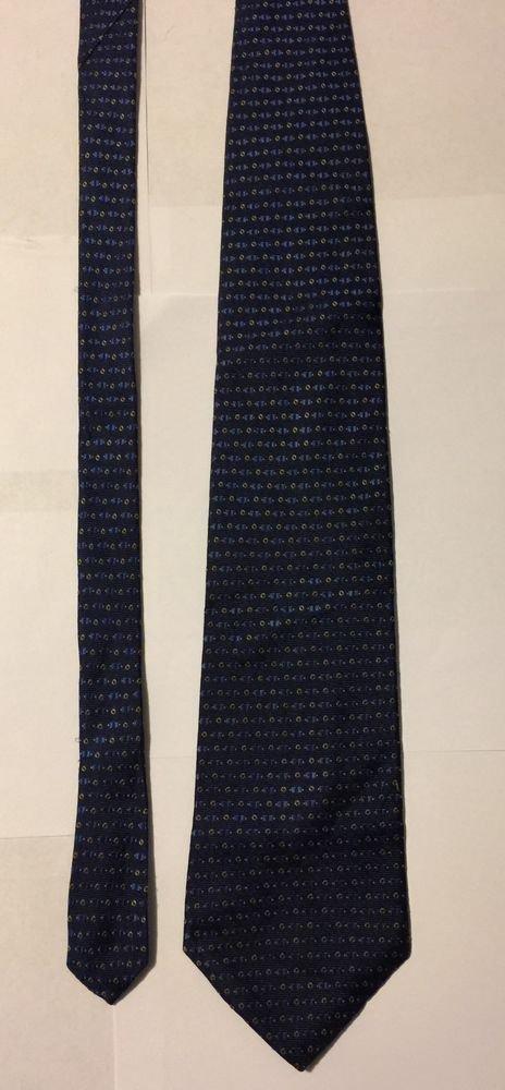 Nautica Blue Silk Necktie