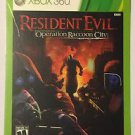 Xbox 360 Resident Evil Operation Raccoon City Blockbuster Artwork Display Card