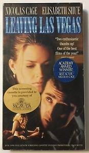 Leaving Las Vegas (VHS, 1996) Screening Cassette