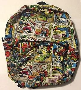 Marvel Backpack Avengers Captain America Thor Hulk Spider-man