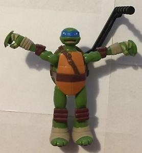 Teenage Mutant Ninja Turtles Super Sidewindin' Leo 2014 Playmates Leonardo TMNT