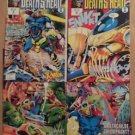 Death's Head II Complete 4 Issue Mini-Series 1 2 3 4 Vs Wolverine & X-MEN