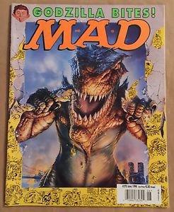 MAD #370 (Jun 1998, EC) Godzilla Parody Cover