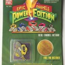 Epic Enamels Power Edition Yellow Rover Geek Fuel Mighty Morphing Power Rangers