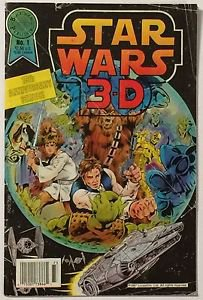 Star Wars 3-D #1 (Blackthorne Publishing) GD/VG Condition