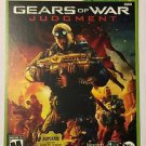 Xbox 360 Gears of War Judgment Blockbuster Artwork Display Card