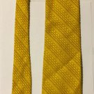 Fashion Craft Fashioncraft Yellow Necktie Tie