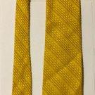 Fashion Craft Fashioncraft Yellow Necktie Tie