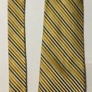 Claiborne Striped Multi-Colored Silk Necktie