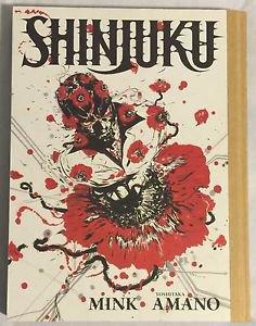 Shinjuku by Mink (2010, Dark Horse Books) Hardcover Graphic Novel