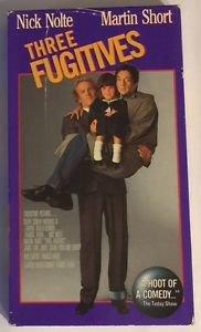 Three Fugitives (VHS, 1991) Nick Nolte   Martin Short