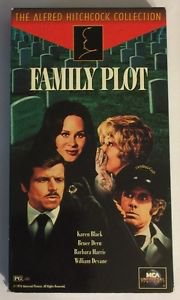 Alfred Hitchcock's Family Plot (VHS, 1995)  Bruce Dern  Barbara Harris