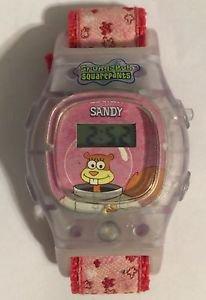 Spongebob Squarepants Sandy Kellogg Digital Wrist Watch Working