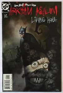 Arkham Asylum: Living Hell #1 (Jul 2003, DC) FN/VF Condition Batman