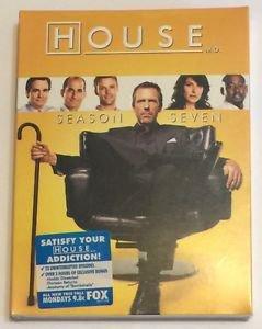 House: Season Seven (DVD, 2011, 5-Disc Set) Brand New Sealed