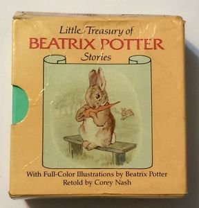 Little Treasury of Beatrix Potter Stories 6 Book Boxed Set Tom Kitten Miss Moppe