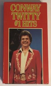 Conway Twitty #1 Hits VHS Willie Nelson's Nashville Superstars Home Video Series