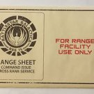Battlestar Galactica Range Sheet Cylon x2 With Envelope Loot Crate