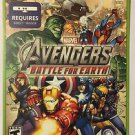 Xbox 360 Avengers Battle For Earth Blockbuster Artwork Display Card
