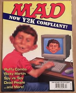 MAD #388 (Dec 1999, EC) Y2K Compliant Parody Cover