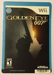 Nintendo Wii Goldeneye 007 Blockbuster Artwork Display Card