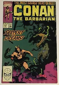 Conan the Barbarian #237 (Oct 1990, Marvel) VG/FN Condition