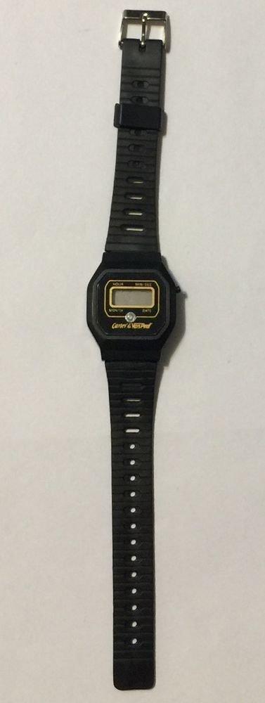Carter & Van Peel Black Digital Wrist Watch