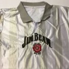 Jim Beam Jersey Striped Shirt Size Large Brand New