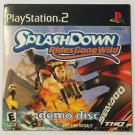 SplashDown Riders Gone Wild (Sony Playstation 2) Demo Disc