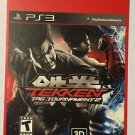 Playstation 3 Tekken Tag Tournament 2 Blockbuster Artwork Display Card