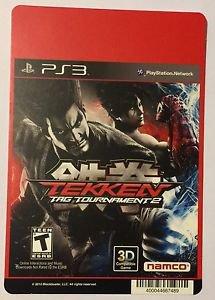 Playstation 3 Tekken Tag Tournament 2 Blockbuster Artwork Display Card