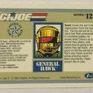 GI Joe Impel Trading Card Series 1 #123 1991 Misprint Blank Side Card