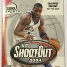 NBA ShootOut 2004 (Sony PlayStation 2, 2003) Demo DIsc