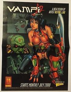 Vampi Poster Vampirella Harris Comics Kevin Lau Brand New