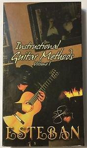 Esteban Instructional Guitar Methods Volume 1 VHS