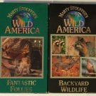 Marty Stouffer's Wild America Lot of 2 Backyard Wildlife and Fantastic Follies