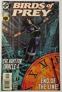 Birds of Prey #21 (Sep 2000, DC) NM Condition