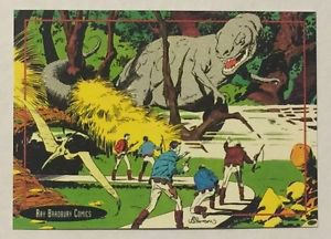 Ray Bradbury Comics Promo Trading Card Topps 1993 A Sound of Thunder