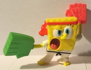McDonalds Spongebob Squarepants Karate Spongebob 2012
